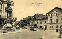 Connewitz Sächsisches Haus - Connewitz Prinz Eugen, Europe, City, Cities, Historia, Leipzig, Historical Pictures, Human Settlement, Nostalgia
