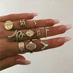 women rings wedding ring set womens rings jewelry punk snake ring natural stone statue Buddha bohemian 's ring anillos Cute Jewelry, Gold Jewelry, Jewelry Rings, Jewelry Box, Jewelery, Jewelry Accessories, Vintage Jewelry, Fashion Accessories, Fashion Jewelry