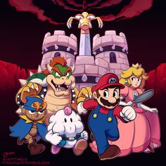 A.R.C.H.I.V.E. Super Mario Rpg, Play Super Mario, Bloodsport Movie, Happy 25th Birthday, Mario Bros, Archive, Illustration, Fictional Characters, Twitter