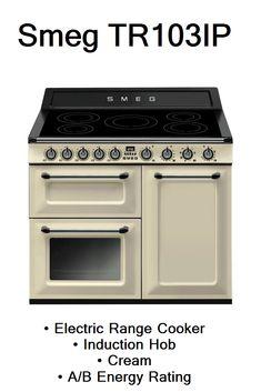 Smeg TR103IP Electric Range Cookers, Kitchen Appliances, Diy Kitchen Appliances, Home Appliances, Electric Stove