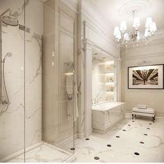 Eclectic Bathroom, Diy Bathroom Decor, Modern Bathroom Design, Bathroom Interior Design, Master Bedroom Bathroom, Small Bathroom, White Bathroom, Bathroom Showrooms, Toilet Design