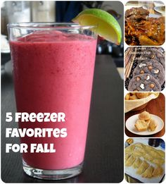 Fall may be over, but these freezer-friendly recipes are still rocking my world!