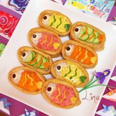 子どもの日に作ってあげたい鯉のぼりの簡単可愛いデコご飯レシピ15選