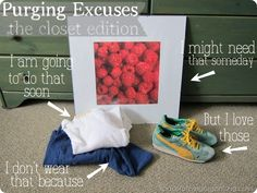 Our excuses for clutter