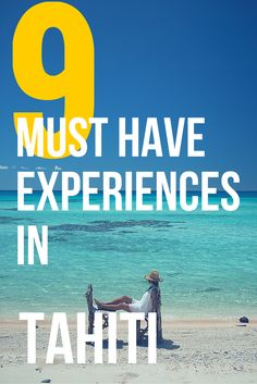 9 UNDER-THE-RADAR EXPERIENCES TO CONSIDER ON THE ISLANDS OF TAHITI. If you're looking for an amazing beach paradise, then Tahiti is it. You'll love the adventure you'll go on.
