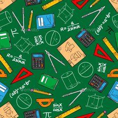 Mathematical Education Seamless Pattern Background Math Quotes, Math Memes, Math Hacks, Math Humor, Math Wallpaper, Wallpaper Backgrounds, Wallpapers, Math Design, School Design