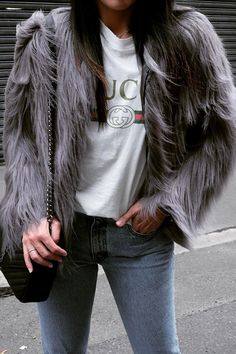 Unreal Fur - Unreal Dream Jacket Slate