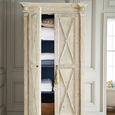 Megève Armoire - Recycled Pine