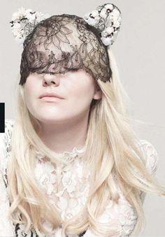 suicideblonde:ダコタはインスタイル、2012年12月のためのカレン·コリンズによって撮影ファニング