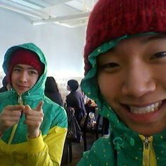 2PM Junho and Nichkhun