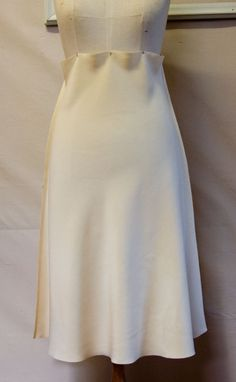 The Ruby Slip #5 – Sewing the Bias Skirt – pattern scissors cloth
