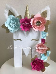 Sistema del regalo del unicornio / Unicorn por PoshCoutureDesigns My Little Pony Party, Fiesta Little Pony, Deco Baby Shower, Baby Shower Parties, Baby Showers, Unicorn Birthday Parties, Girl Birthday, Birthday Gifts, Party Decoration