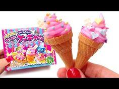 Kracie Popin' Cookin' Mini Ice Cream Shaped Candy たのしいケーキやさん How to Make Ice Cream Candy - YouTube