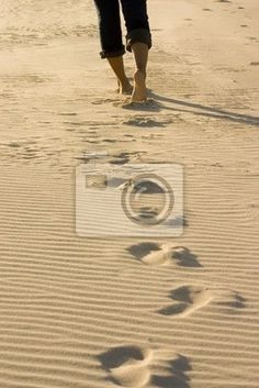 Obraz lub Plakat footprints