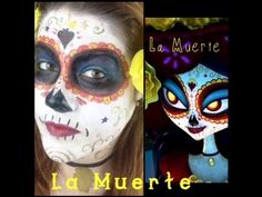 one of which is doing makeup tutorials. Book Of Life, The Book, Day Of The Dead Party, Sugar Skulls, Halloween Makeup, Books, Youtube, Day Of The Dead, Death