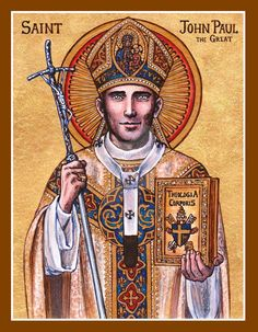 St. John Paul the Great icon by Theophilia on DeviantArt