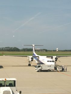 On July 31st 2014, I left Niigata Airport for Bangkok!@新潟空港 (Niigata Airport - KIJ/RJSN) 場所: 新潟市, 新潟県