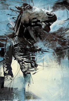 Traditional Way Of Drawing With Ink And Pencil Illusion Portraits By Russ Mills-16 Pictures