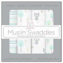 Great savings on Premium Cotton Muslin Swaddles! #LaborDay #Save #Deals #Baby…