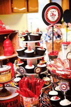 Fireman's Cupcakes