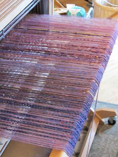 This loom is ready for weaving!