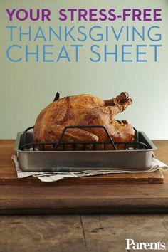 Thanksgiving Cheat Sheet