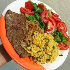 A great food is a food that contains complete nutrition and has a delicious flavor. And that kind of great foods can be applied on your healthy lunch ideas. Healthy Meal Prep, Healthy Dinner Recipes, Mexican Food Recipes, Healthy Snacks, Healthy Eating, Healthy Dinners, Diet Recipes, Deli Food, College Meals