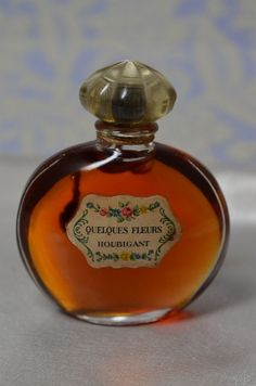 Vintage  QUELQUES FLEURS  Pure Perfume Parfum by by ChiChiPerfumes, $137.50