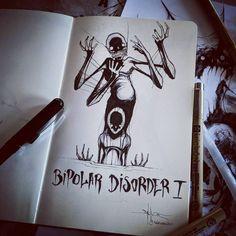 Mental illness art by ShawaMental illness art by Shawn Coss // mental health illustrations   n Coss