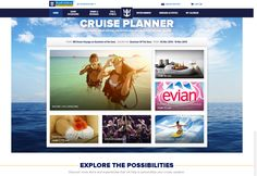 Home page for Cruise Planner