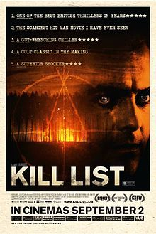Kill List. United Kingdom. Horror film. Neil Maskell, Michael Smiley, MyAnna Buring, Emma Fryer. Directed by Ben Wheatley. 2011