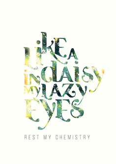 Rest My Chemistry on Behance