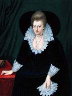Portrait de Frances, comtesse de Clanricarde