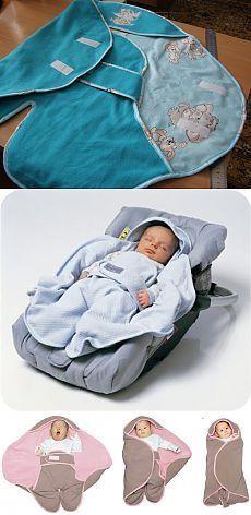 Конверт-одеялко для новорожденных