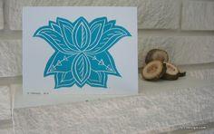 Stunning Hand Stamped Blank Greeting Cards - Bundle of 3   life i design