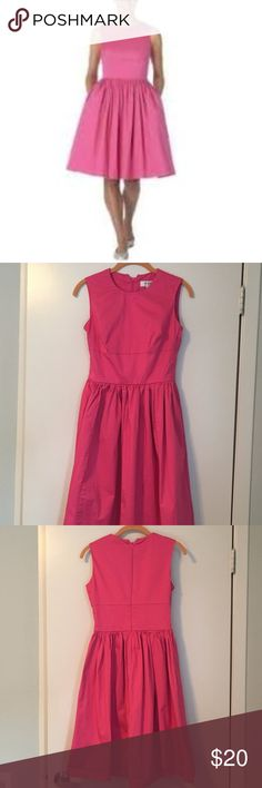 Isaac Mizrahi for Target Pink Party Dress Gorgeous pink Isaac Mizrahi for Target dress -- knee length, with pockets.  Can be accessorized many ways!  Worn a handful of times, in good condition. Isaac Mizrahi Dresses