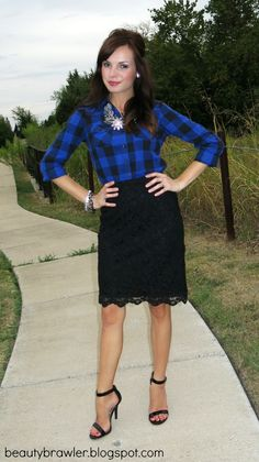 Flannel & Lace #beautybrawler