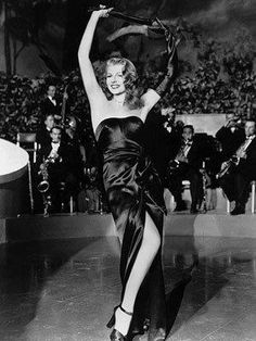 Rita Hayworth Gildal    Originally a dancer, she was a legendary Hollywood actress whose beauty catapulted her to international stardom in the 1940s and 1950s.