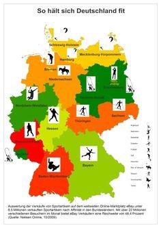 Das sind die liebsten Sportarten der Deutschen | Sports Insider Magazin