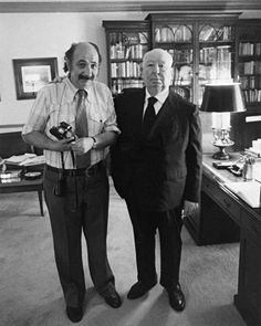 Ara Guler with Alfred Hitchcock Marc Riboud, Henri Cartier Bresson, Alfred Hitchcock, Old Pictures, Old Photos, Istanbul, Paris Match, Great Photographers, Magnum Photos