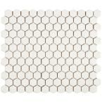 Merola Tile, Metro Hex Matte White 10-1/4 in. x 11-3/4 in. x 5 mm Porcelain Mosaic Tile (8.54 sq. ft. / case), FDXMHMW at The Home Depot - Mobile