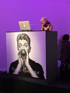 Had a lot of fun at #Sothebys for the #BowieCollector event. Great DJ. Loved the remix of London Grammer's 'Hey Now'