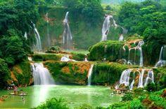 Mooie plaatsen op aarde