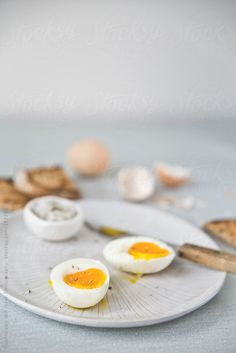 Egg for breakfast by Sophia van den Hoek #stocksy #realstock