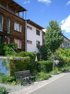 Quartier Vauban Fribourg-en-Brisgau (Allemagne)