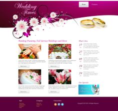 Wedding Times - Like this design? Have it customized with your logo and content! - JoomlaNinja.in