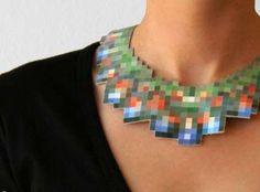 pixelated jewelry