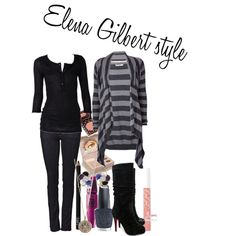 """Elena Gilbert style"" by indreaa on Polyvore"