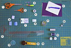 Pleats and Ruffles: My Favorite Things Best Basic Sewing Tools for Beginners. My Favorite Things by Pleats & Ruffles Sewing Lessons, Sewing Class, Sewing Tools, Sewing Basics, Sewing For Beginners, Sewing Hacks, Sewing Tutorials, Sewing Patterns, Basic Sewing