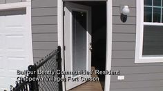Fort Carson neighborhoods; Townhomes; Family Homes- Chippewa Village